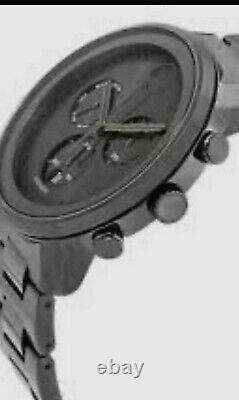 Brand New Men's Movado Bold 3600486 Chronograph Gunmetal Stainless Steel Watch