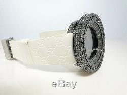 Brand New Mens 52Mm Bezel I Gucci Digital Black Diamond Watch 18.5 Ct
