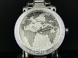 Brand New Mens Jojino/joe Rodeo Aqua Master Metal Band 25 Diamond Watch Mj-1032