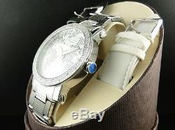 Brand New Mens Jojino/joe Rodeo Aqua Master Metal Band 25 Diamond Watch Mj-1032a