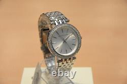 Brand New Michael Kors MK3190 Silver Darci Luxury Stylish Ladies Watch