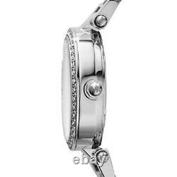 Brand New Michael Kors Mk5615 Mini Parker Silver Women Watch Uk Gift