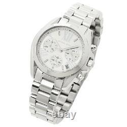 Brand New Michael Kors Mk6174 Mini Bradshaw Silver White Dial Women Watch Uk