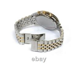 Brand New Michael Kors Mk8344 Lexington Two-tone Analog White Dial Mens Watch