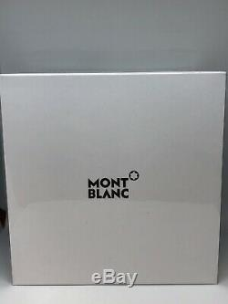 Brand New Montblanc Summit 2 Black Leather & Stainless Men's Smart Watch 119440