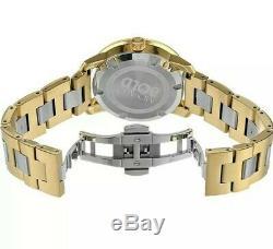Brand New Movado Bold 3600129 Silver Dial Swiss Quartz Ladies Two Tone Watch
