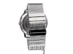 Brand New Movado Bold 3600260 Silver Stainless Steel Men's Swiss Quartz Watch