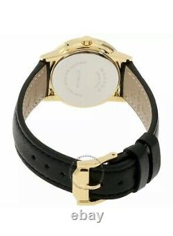 Brand New Movado Museum Classic Black Dial Woman's Slim Gold Watch 0607275