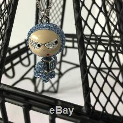 Brand New New in Box Swarovski Eliot Blue Crystal Pendant Necklace 1084490