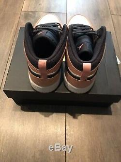 Brand New Nike Air Jordan 1 Mid Pink Quartz PS UK 1.5