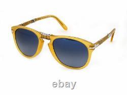 Brand New Persol Sunglasses PO0714SM 204 / S3 Yellow blue Man