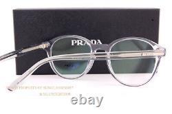 Brand New Prada Eyeglass Frames PR 13WV U43 Grey Crystal For Men Women Size 51