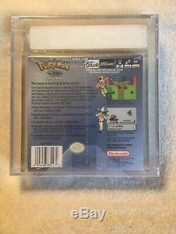 Brand New Sealed Pokemon Crystal Version Game Boy Color VGA graded 80+ Silver