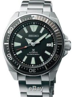 Brand New Seiko Srpb51 Samurai Automatic Mens Diver Black Dial Watch Nwt