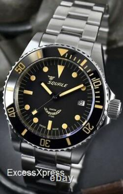 Brand New Squale 1545 30 ATMOS VINTAGE Ceramica Watch Full Set Under Warranty