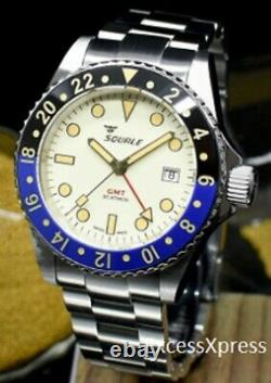 Brand New Squale 1545 30 Atmos MAIO GMT CERAMICA Watch Full Set Under Warranty