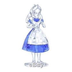 Brand New Swarovski (5135884) Disney Alice In Wonderland Blue Crystal Figurine