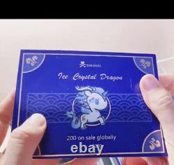 Brand New Tokidoki Unicorno China Exclusive Ice Crystal Dragon Limited 5 Figure