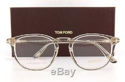 Brand New Tom Ford Eyeglass Frames 5401 020 Crystal Size 51mm Men Women