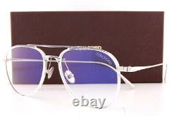 Brand New Tom Ford Eyeglass Frames FT 5666-B/V 026 Transparent crystal/silver