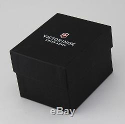 Brand New Victorinox Swiss Army Night Vision Silver 241571 Led Light Men's Watch