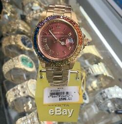 Brand New With Original Box 18K GoId Plated INVICTA 20023 Ladies Watch