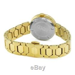 Brand New Women's Movado Bold (3600382) Museum Gold Tone Sunray Dial Watch