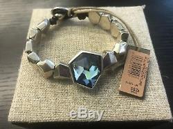 Brand New Wtags Authentic Uno De 50 Iceberg Bracelet Pul1679azumtl0m Size Medium