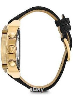 Brand new BULOVA Precisionist chronograph GOLD TONE men's watch 97B178
