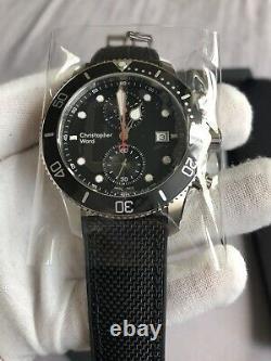 Brand new Christopher Ward C60 Trident Chronograph 300 quartz 43mm