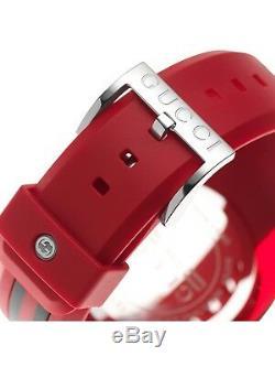 Brand new Gucci YA137103 Sync XXL Watch RED