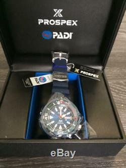 Brand new Seiko Prospex PADI Baby Tuna Blue dial Diver's 200 m SRPA83K1