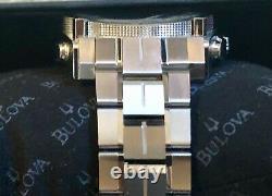 Bulova Mens Chronograph Precisionist 96B175 Stainless Steel Watch Brand New