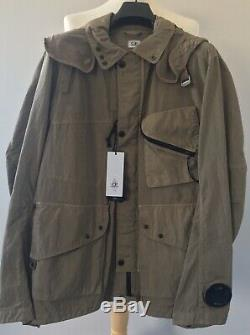 C. P. Company Quartz Goggle Jacket S/S 19 in Kelp Brand New With Tags RRP £650