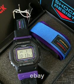 CASIO G SHOCK DW-5600THS-1 BLACK&PURPLE SPECIAL COLORS THROWBACK 1990s BRAND NEW