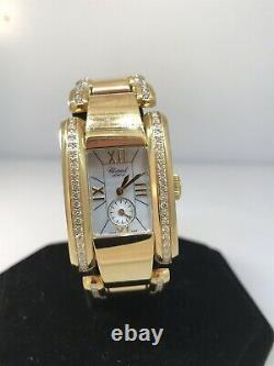 CHOPARD La Strada 18 Karat Yellow Gold Ladies Bracelet Watch 41/9254 Brand New