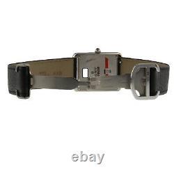 Cartier Tank Solo Stainless Steel Quartz 27 x 34.8 27 mm Silver Watch WSTA0028