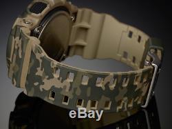Casio G-Shock Camouflage Quartz Men's GA-100CM-5A Brand New Watch