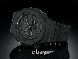 Casio G-Shock CasiOak GA-2100-1A1 200m Blackout Watch Brand New Ships Now