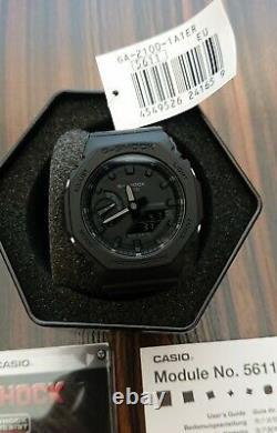 Casio G-Shock GA-2100-1A1 CasiOak Brand New Rare