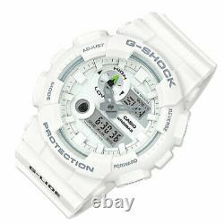 Casio G-Shock GAX-100A-7A Shock Resistant White Sport Watch Brand New