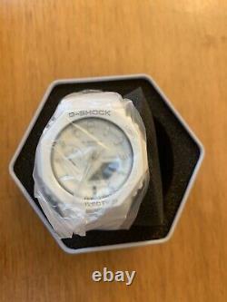 Casio G-Shock GMA-S2100-7A White CasiOak Brand New