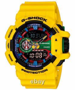 Casio G-shock Ga-400-9a Hyper Colors Rare Limited 100% Genuine Brand New