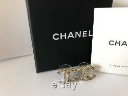 Chanel 2019 19a Crystal Earrings Authentic Brand New CC Rare Jewelry