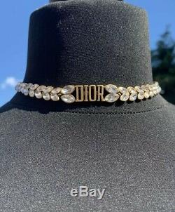 Christian Dior Crystal Necklace Brand New