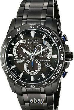Citizen Eco Drive AT4007-54E Men's Chronograph Brand New Watch With Original Box