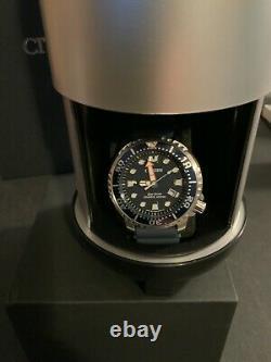 Citizen Men's Eco-Drive Promaster Diver Blue DLC 200m Watch BN0151-09L BRAND NEW