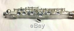 Crystal and silver PICCOLO with case BRAND new perfect c key