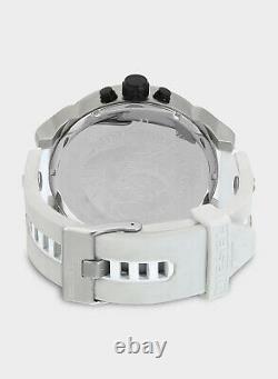 DIESEL MR DADDY 2.0 White Multiple Time Zone Chronograph Men's Watch DZ7401