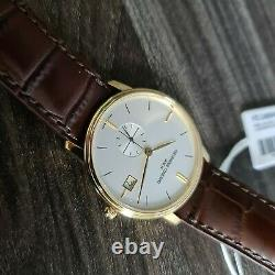 Frederique constant mens watch slimline gold plated clearance sale brand new